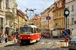 Revelion Praga  autocar