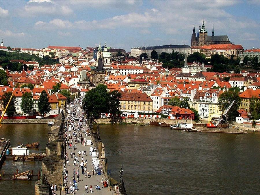 1 Mai la Praga