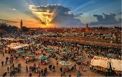 Circuit Maroc: Casablanca - Marrakech - Fez - Meknes - Rabat - Casablanca