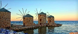 Paste Grecia, Insula CHIOS (Marea Egee) 2017